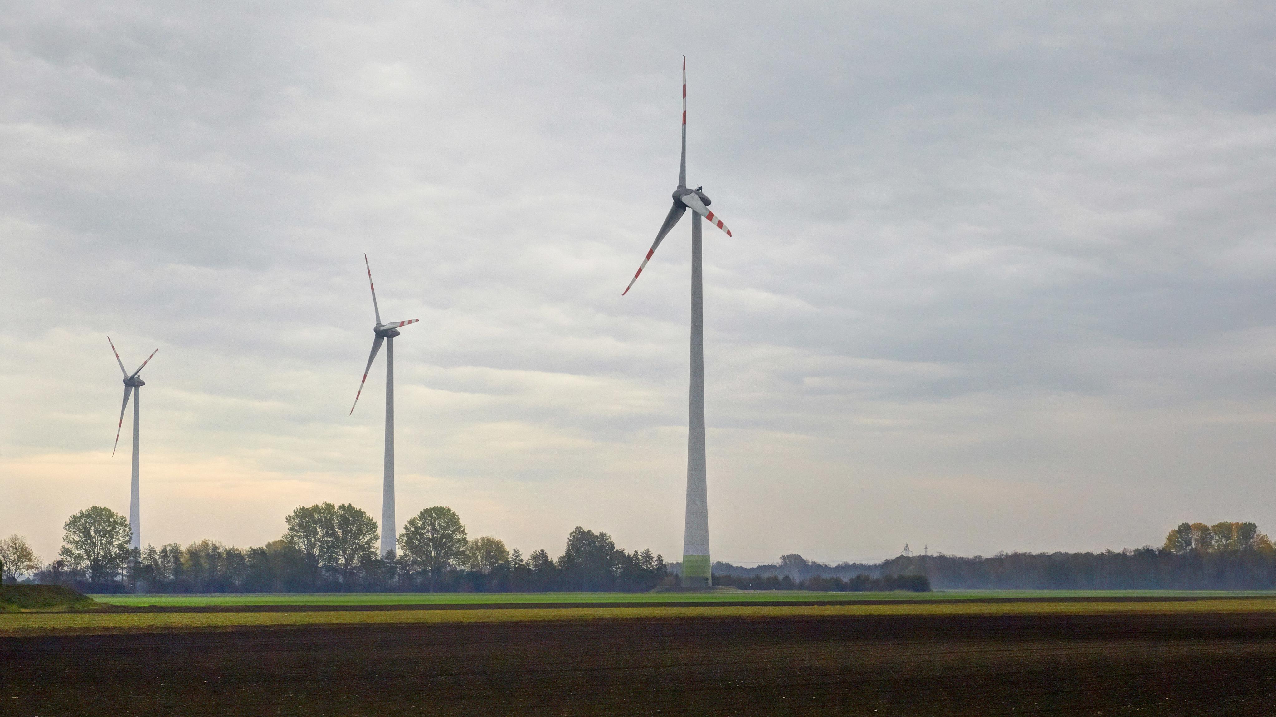 Norddeutsche Windkraftanlage