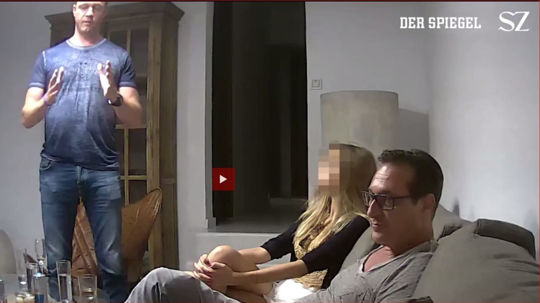 Szene aus dem Ibiza-Video