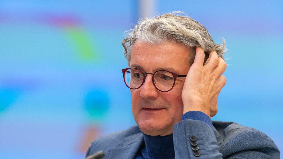 Rupert Stadler, ehemaliger Vorstandsvorsitzender der Audi AG, im Sitzungssaal des Landgericht München.