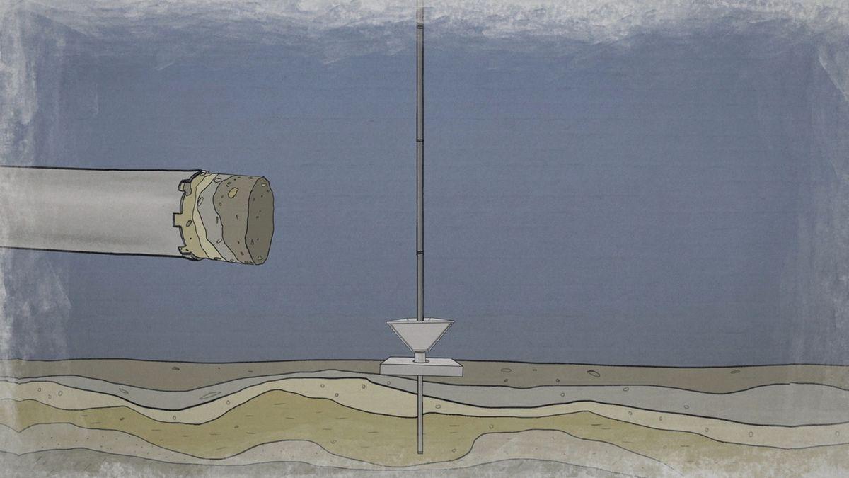 Bohrungen im Bodensee