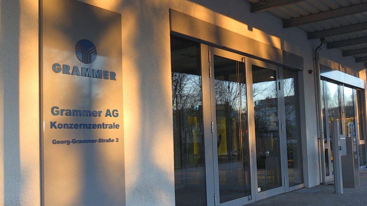 Firmenzentrale des Oberpfälzer Autozulieferers Grammer