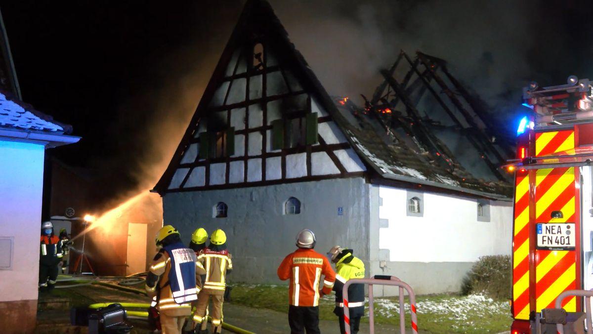 Brand am 31.01.2021 in Schauerheim.