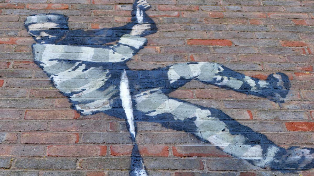 Der britische Künstler würdigte Oscar Wilde