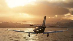 Anflug auf Flughafen | Bild:Microsoft