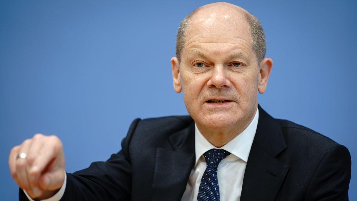 Bundesfinanzminister und SPD-Kanzlerkandidat Olaf Scholz.