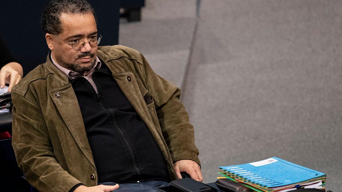 Der AfD-Abgeordnete Harald Weyel scheiterte auch im dritten Anlauf zur Wahl für das Amt des Bundestagsvizepräsidenten im Parlament.