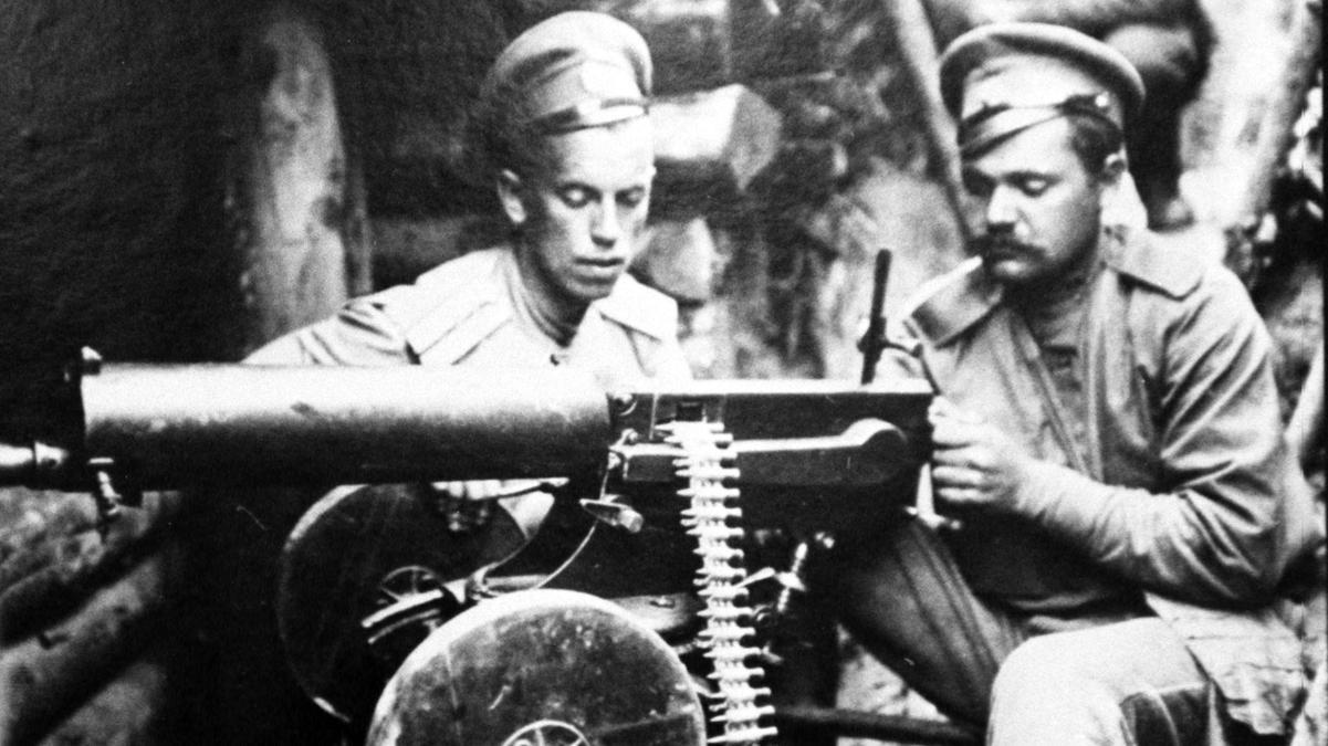 Bilder aus dem Ersten Weltkrieg