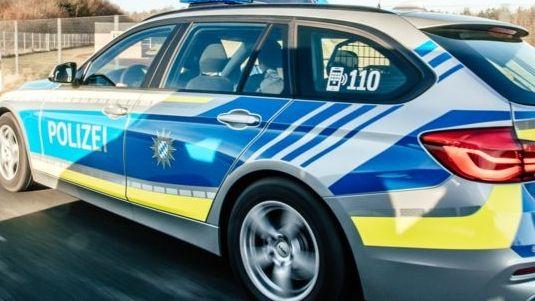 Symbolfoto Polizeiauto