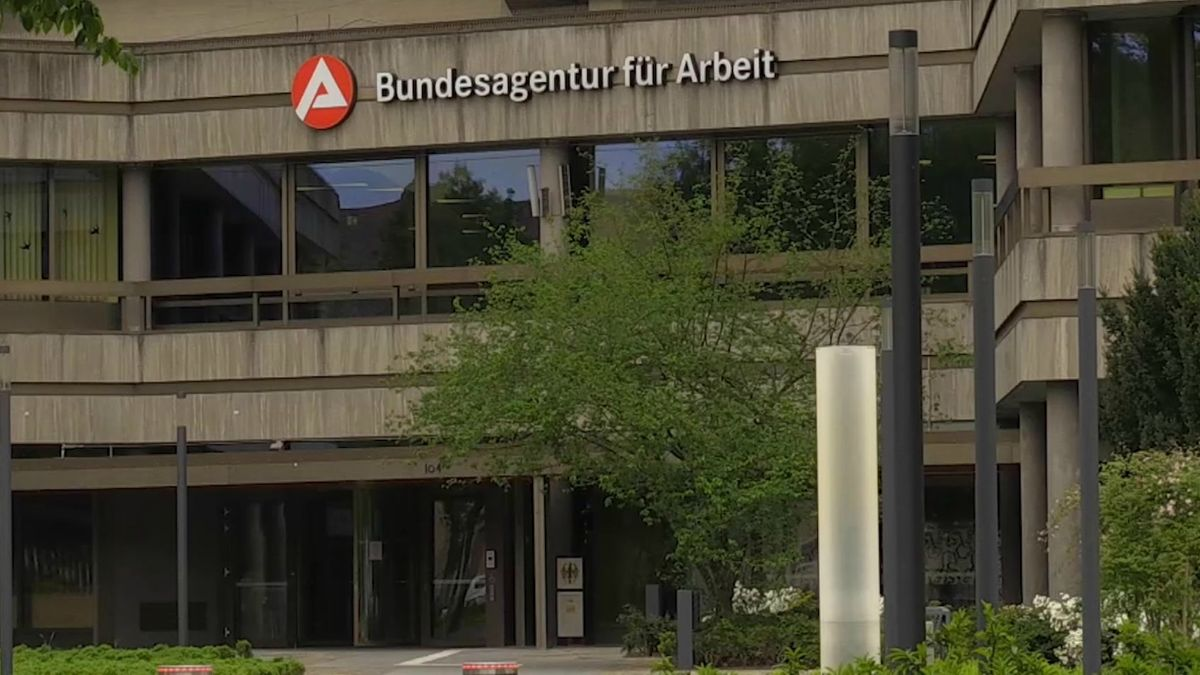 Das Gebäude der Bundesagentur für Arbeit in Nürnberg.