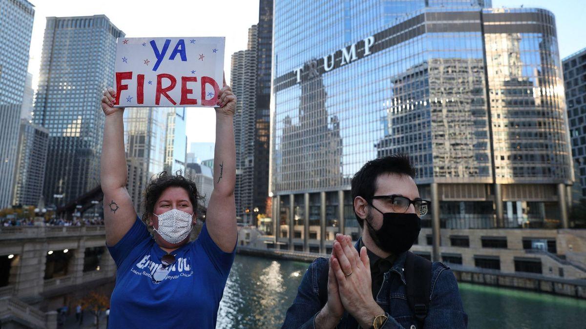 Gefeuert: US-Präsident Donald Trump will Washington bald verlassen