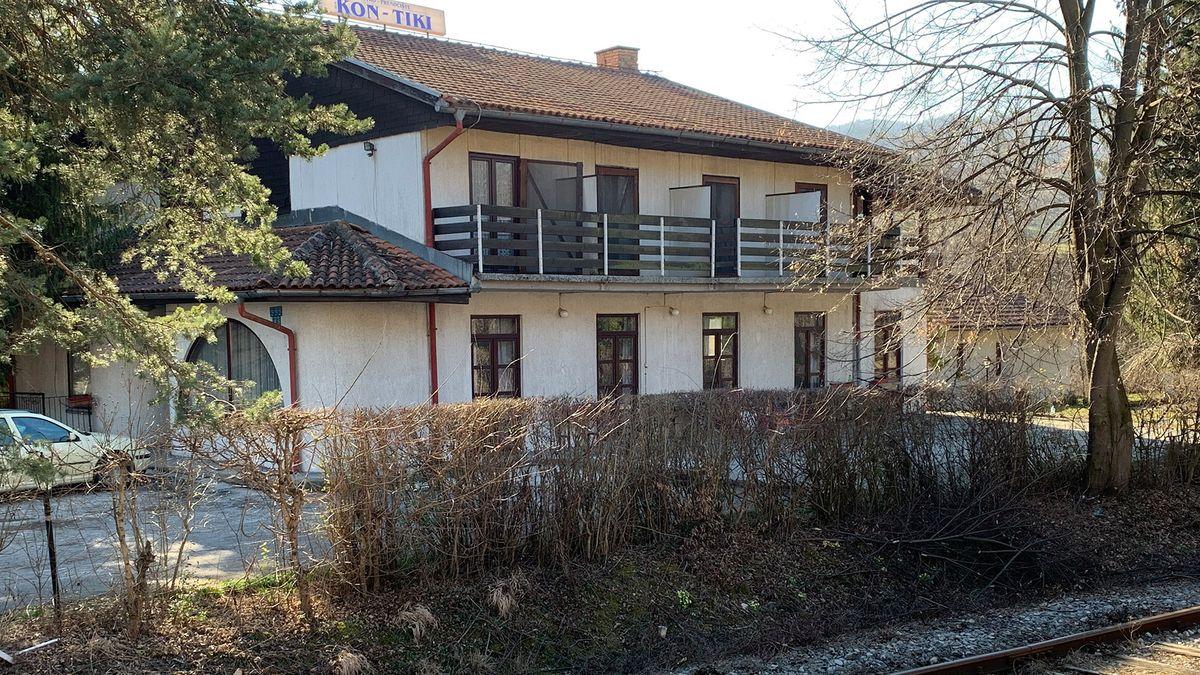 In diesem ehemaligen Gasthaus bei Vogosca wurden Frauen zur Prostitution gezwungen.