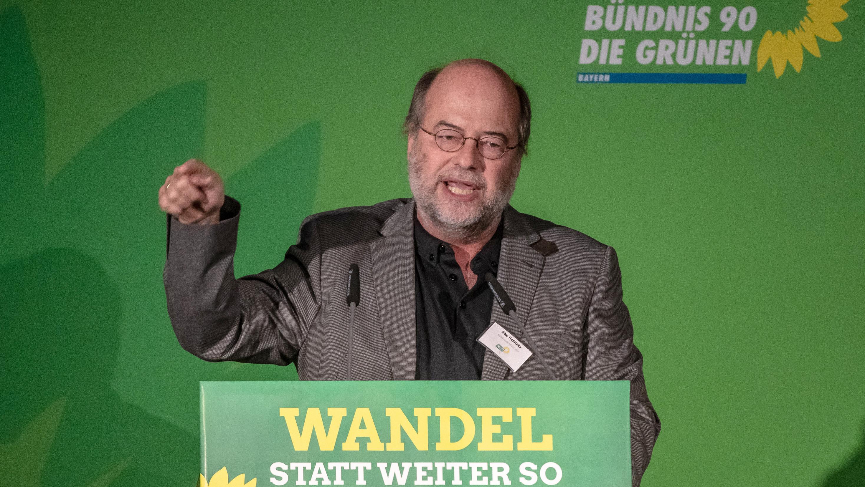 Eike Hallitzky, Landesvorsitzender der Grünen in Bayern