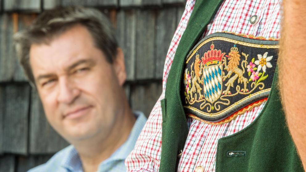 Bayerns Ministerpräsident Markus Söder   Bild:picture-alliance / dpa