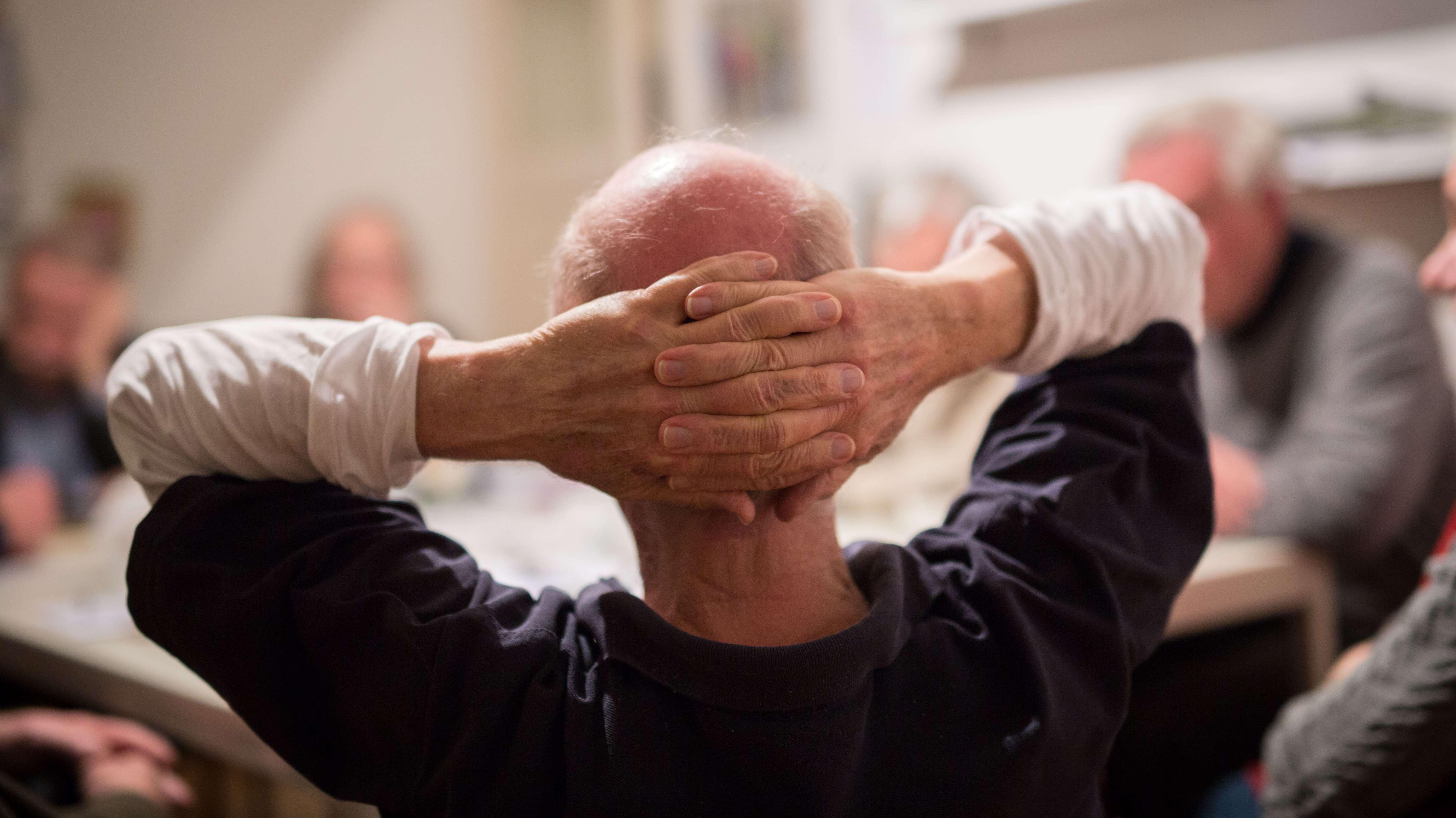 Symbolbild: Teilnehmer einer Selbsthilfegruppe für Parkinsonkranke