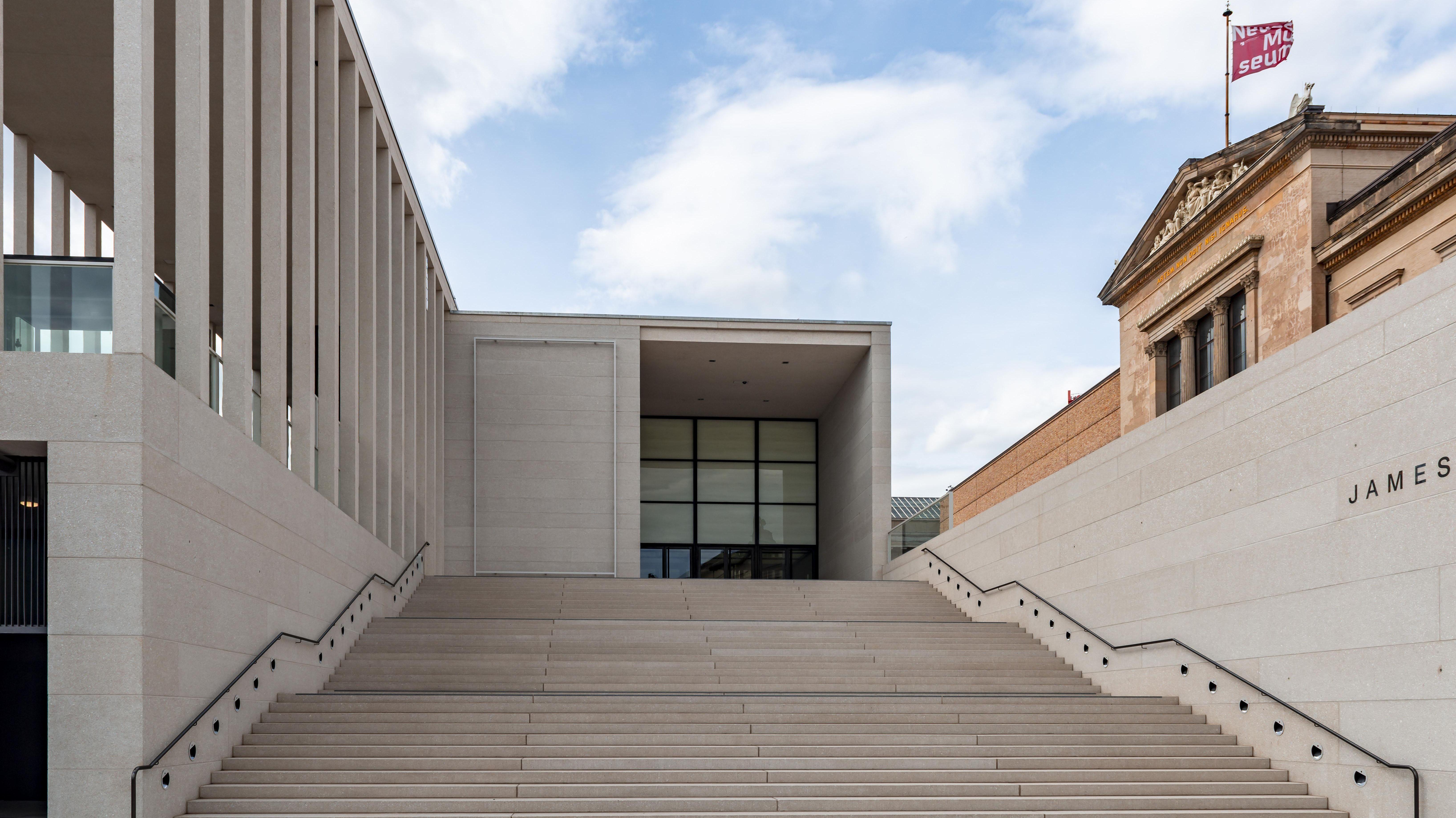 James Simon Galerie Auf der Berliner Museumsinsel