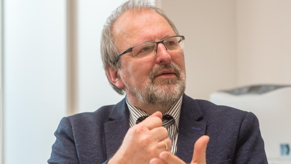 Heinz-Peter Meidinger, Präsident des Deutschen Lehrerverbandes | Bild:pa/dpa/Armin Weigel