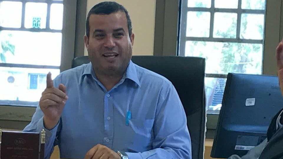 Der Arzt Mahmoud Abu Khaker.