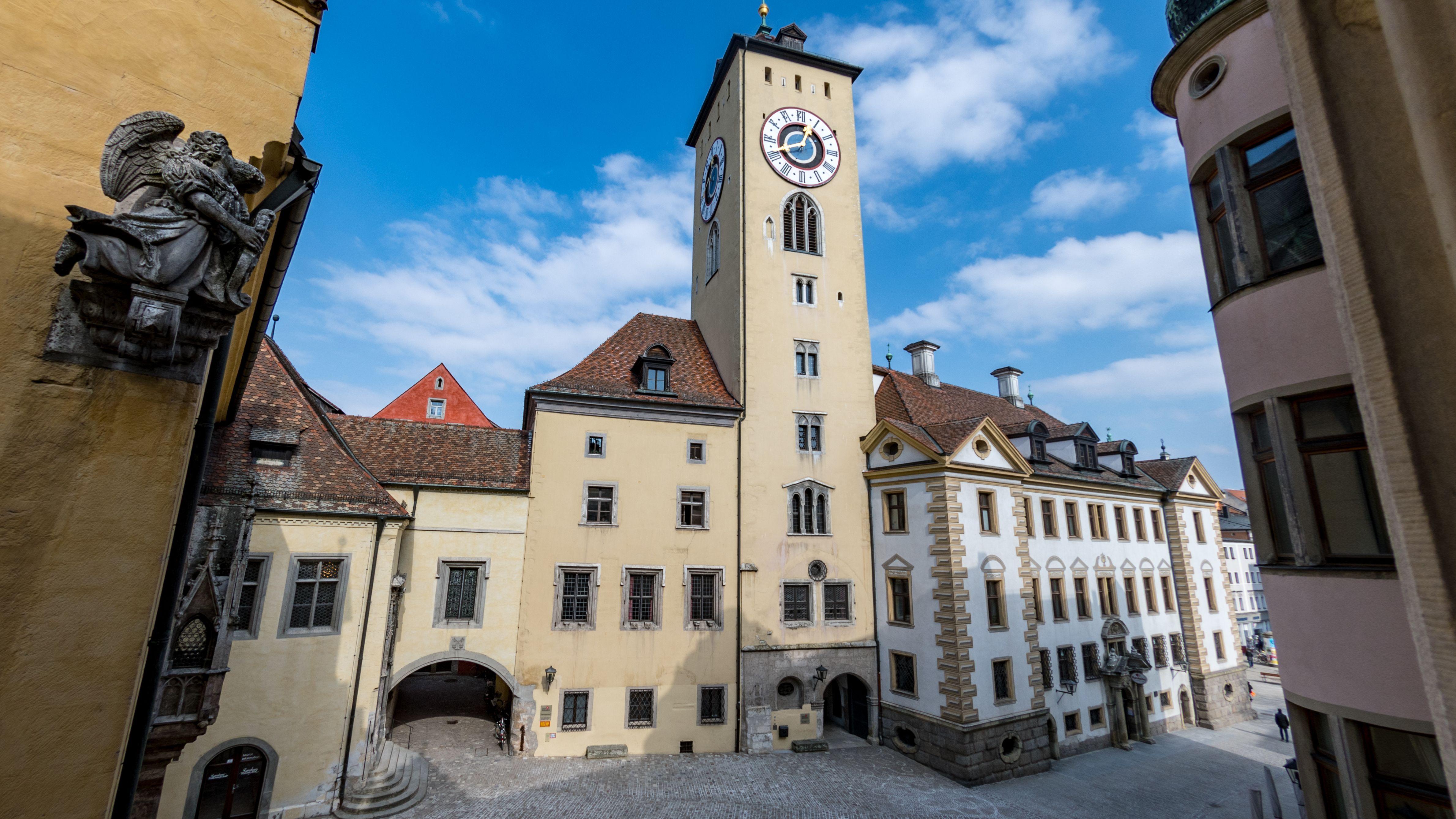 Das Alte Rathaus in Regensburg
