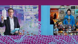 Bundesverkehrsminister Scheuer zeigt Mimimi Computerspiele-Preis   Bild:DCP