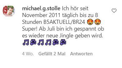 Michael Stolle will wissen: Gibt's wieder neue Jingles? Für BR24 im Radio?
