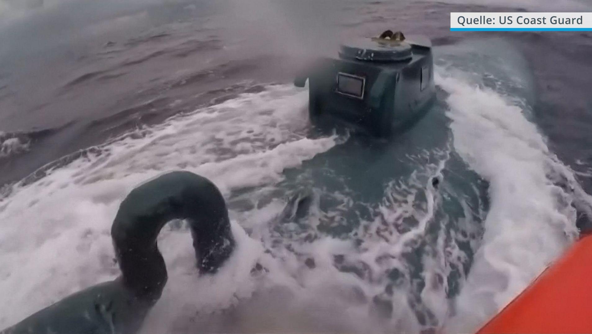 Verfolgungsjagd der US-Küstenwache
