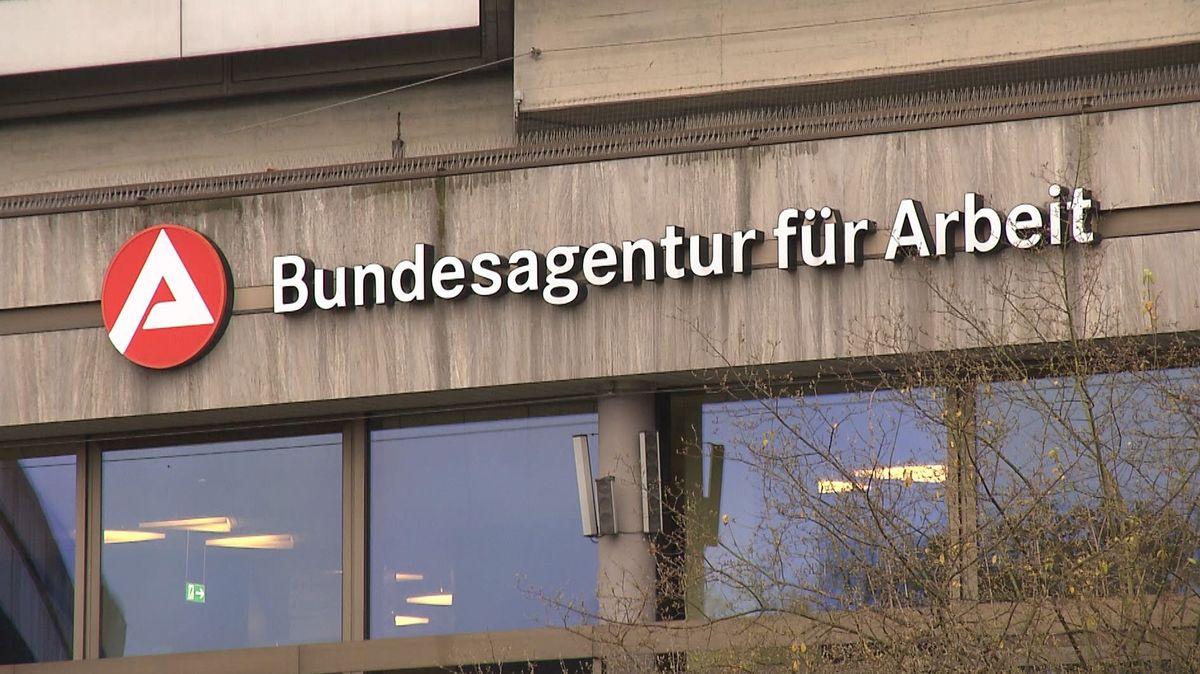Außenansicht auf die Fassade der Bundesagentur für Arbeit