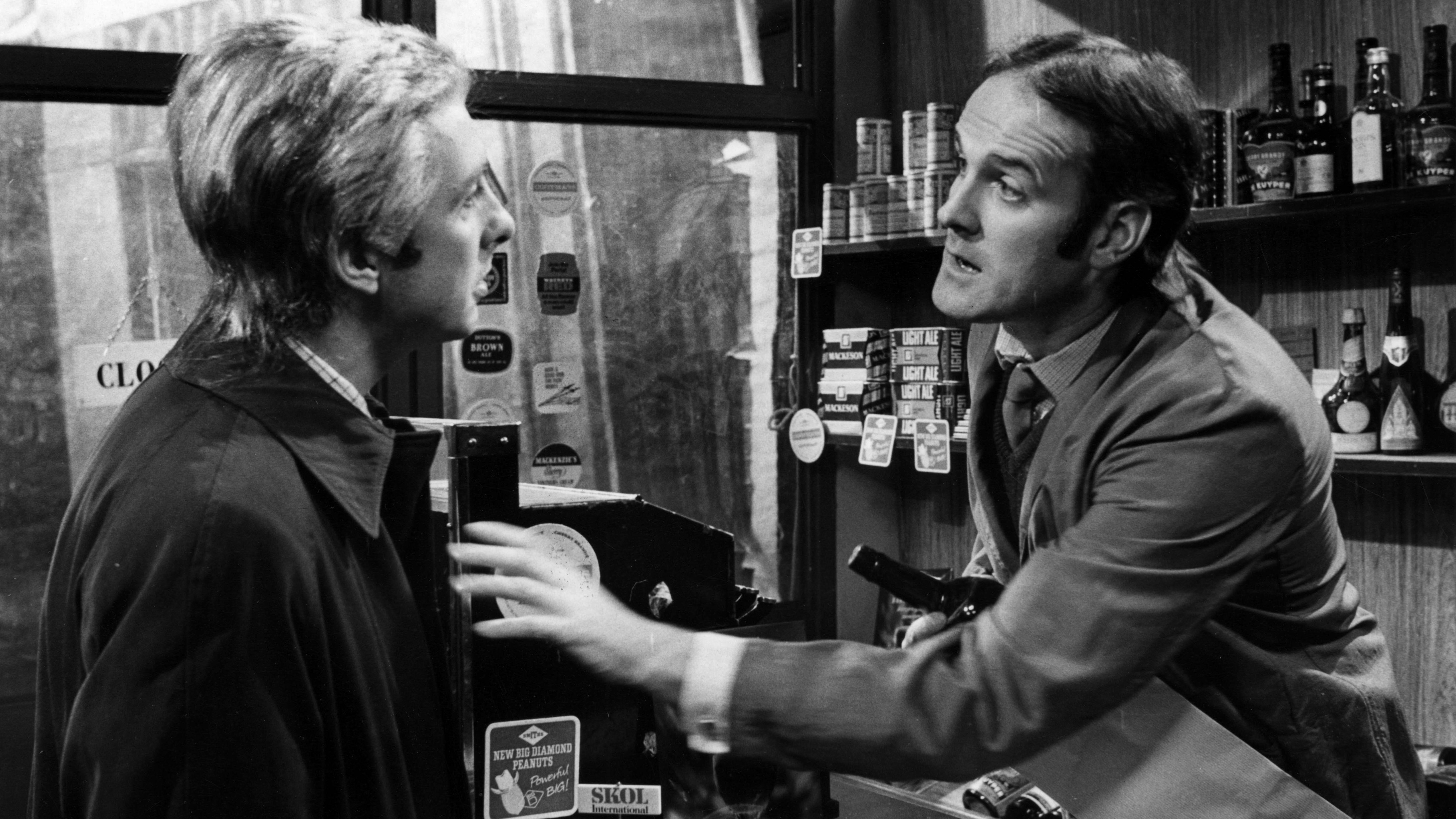 "Monty Python's ""Flying Circus"": Eric Idle und John Cleese in einer Folge vom 17. April 1972"