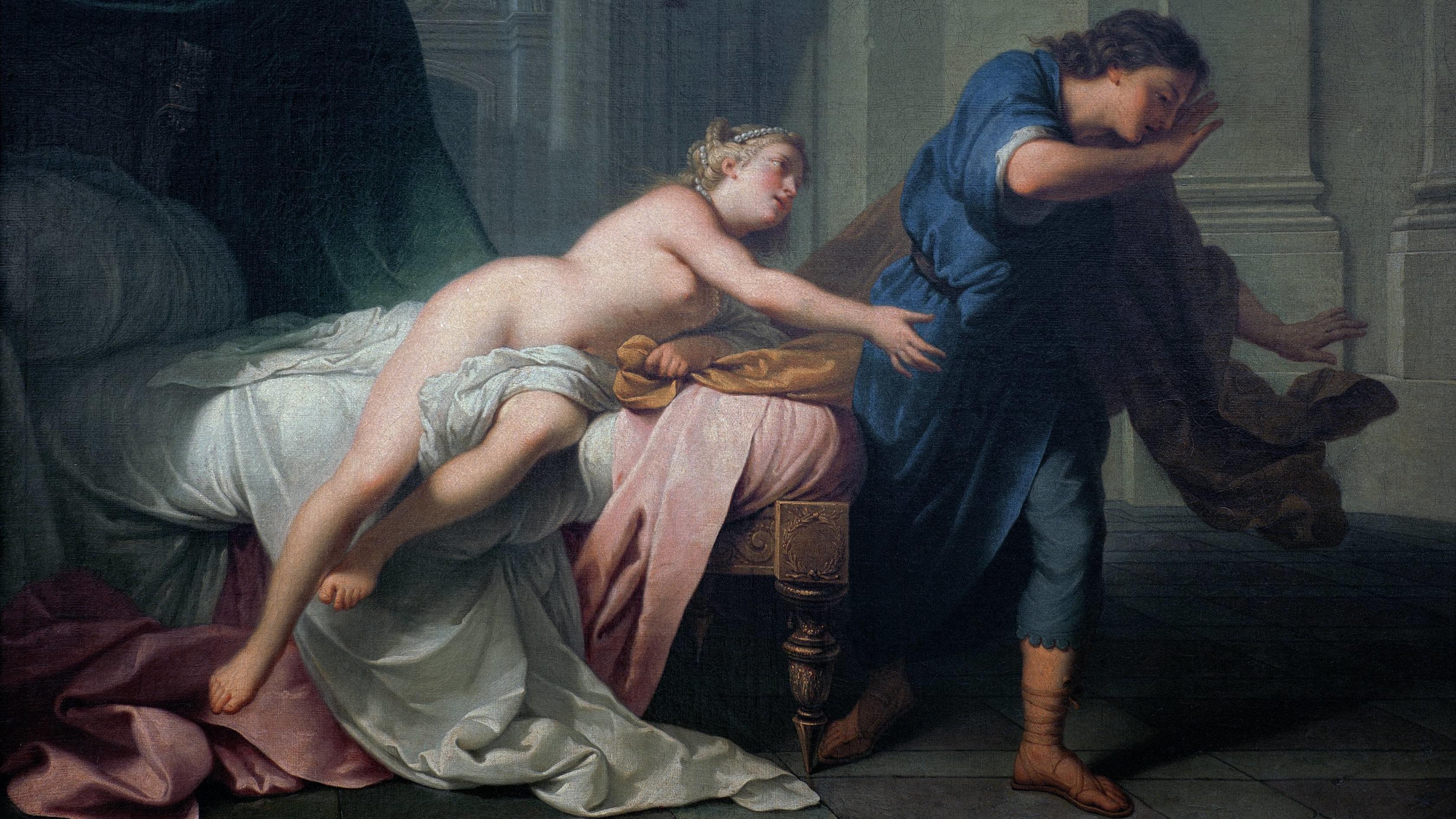 J. B. Nattier: Joseph und Potiphars Weib (um 1700)