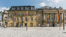 Markgräfliches Opernhaus und Redoutenhaus in Bayreuth von außen | Bild:Bayerischer Rundfunk
