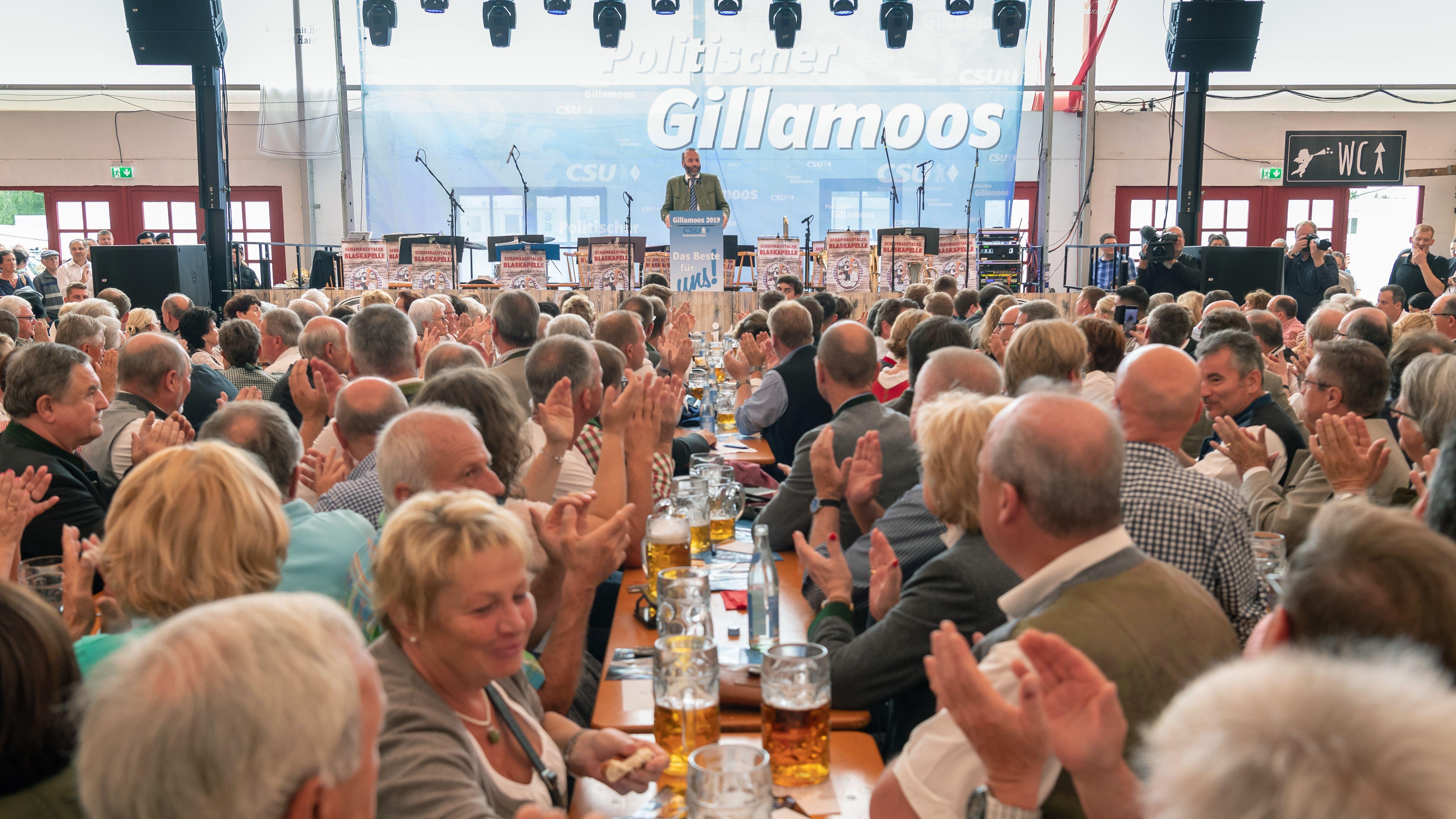 Politischer Frühschoppen beim Gillamoos in Abensberg 2019