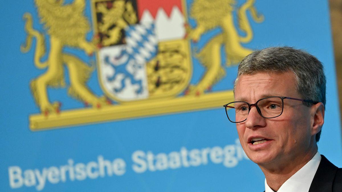 Archivbild: Bernd Sibler (CSU), Staatsminister für Wissenschaft und Kunst