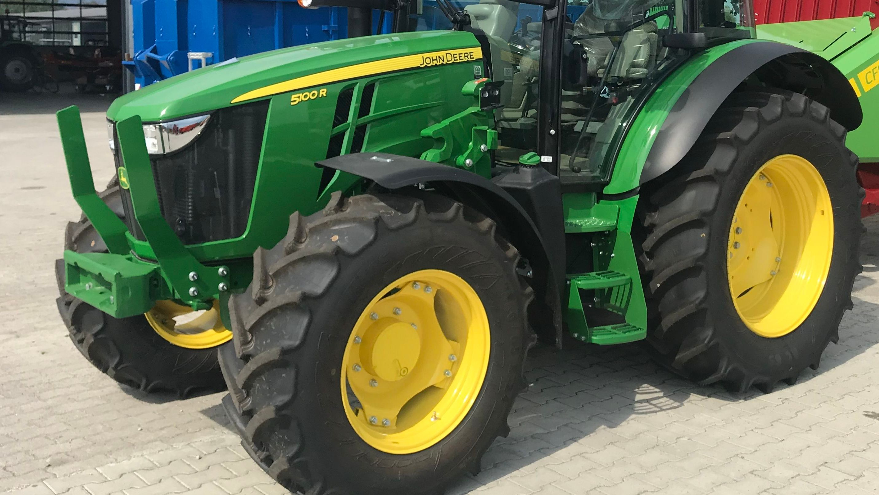 Traktor von John Deere