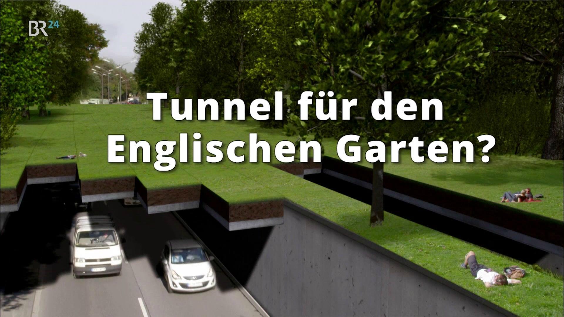 Tunnel Für Den Englischen Garten Br24