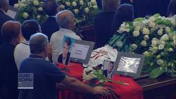 Trauerfeier für die Opfer des Brückeneinsturzes in Genua | Bild:BR