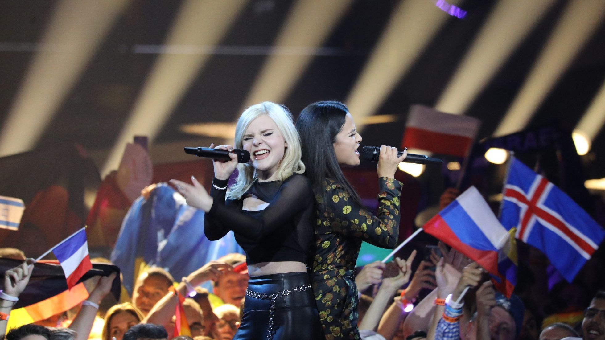 "Der deutsche Act ""Sisters"" belegte in Tel Aviv den drittletzten Platz."