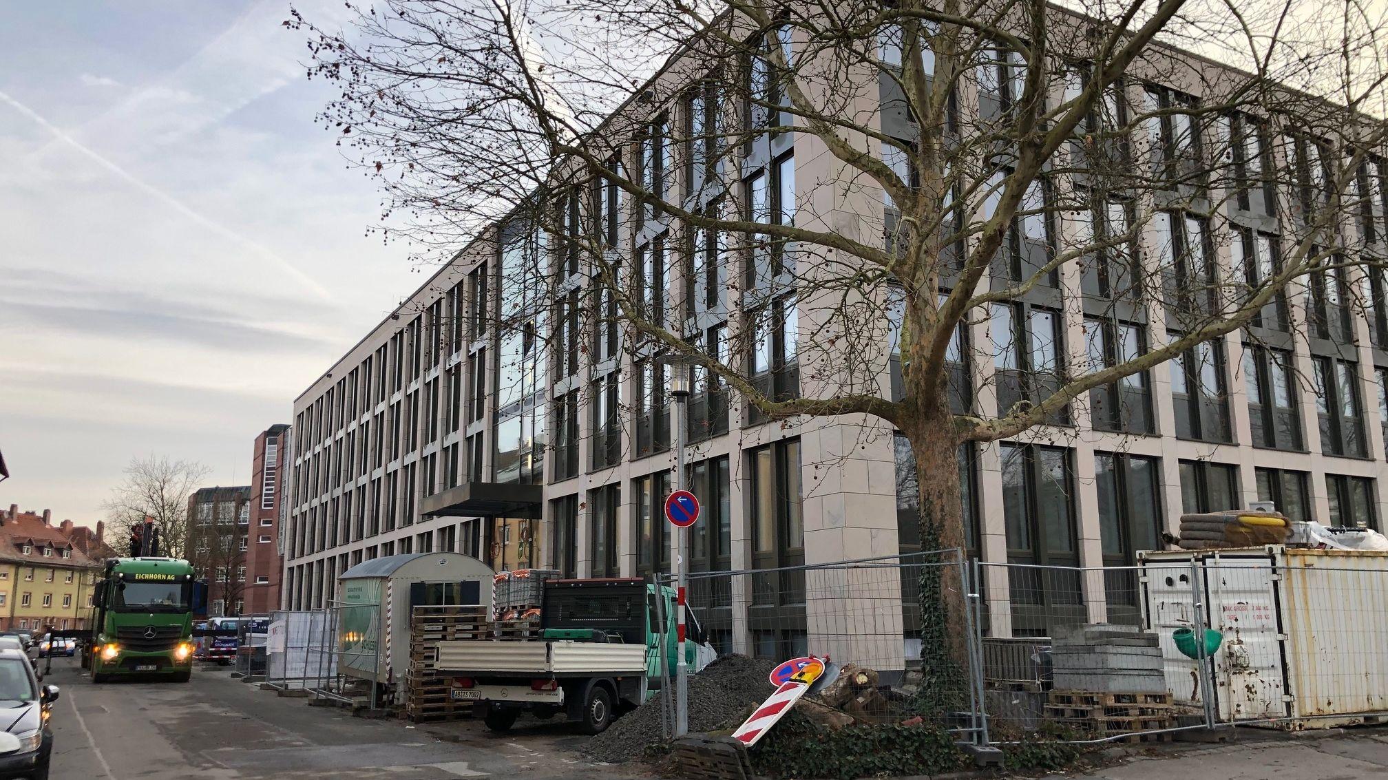 Erweiterungsbau Landratsamt Aschaffenburg