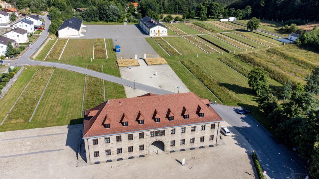 Das Gelände des ehemaligen Konzentrationslagers Flossenbürg.