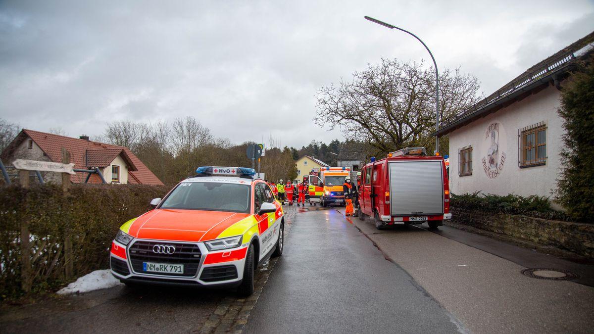 Einsatzfahrzeuge der Rettungskräfte