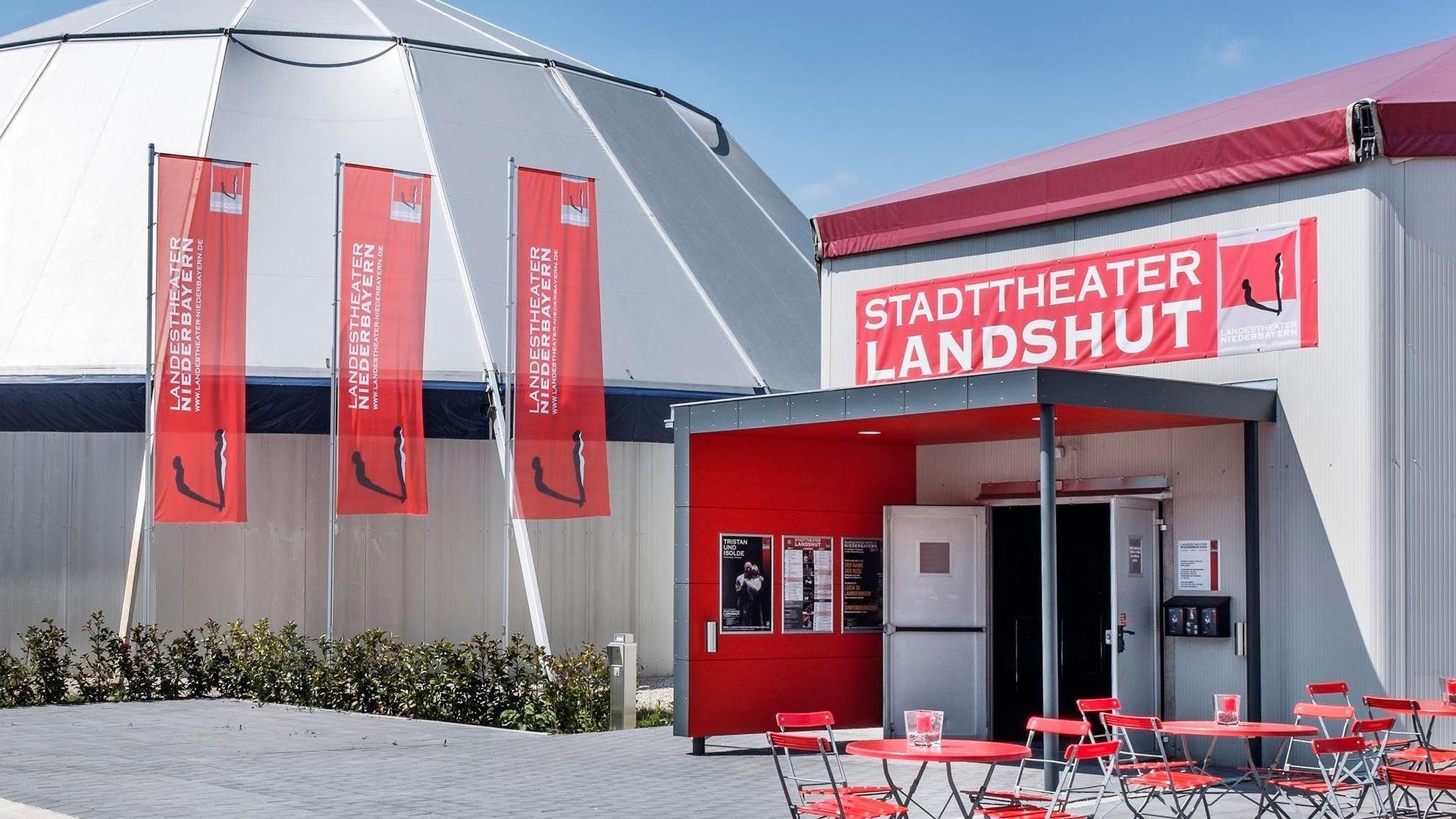 Provisorium: Das Theaterzelt in Landshut