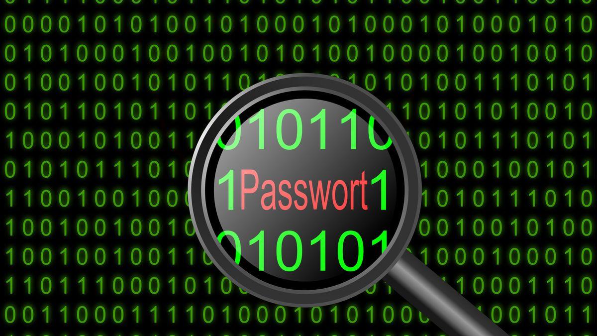 "Das Wort ""Passwort"""