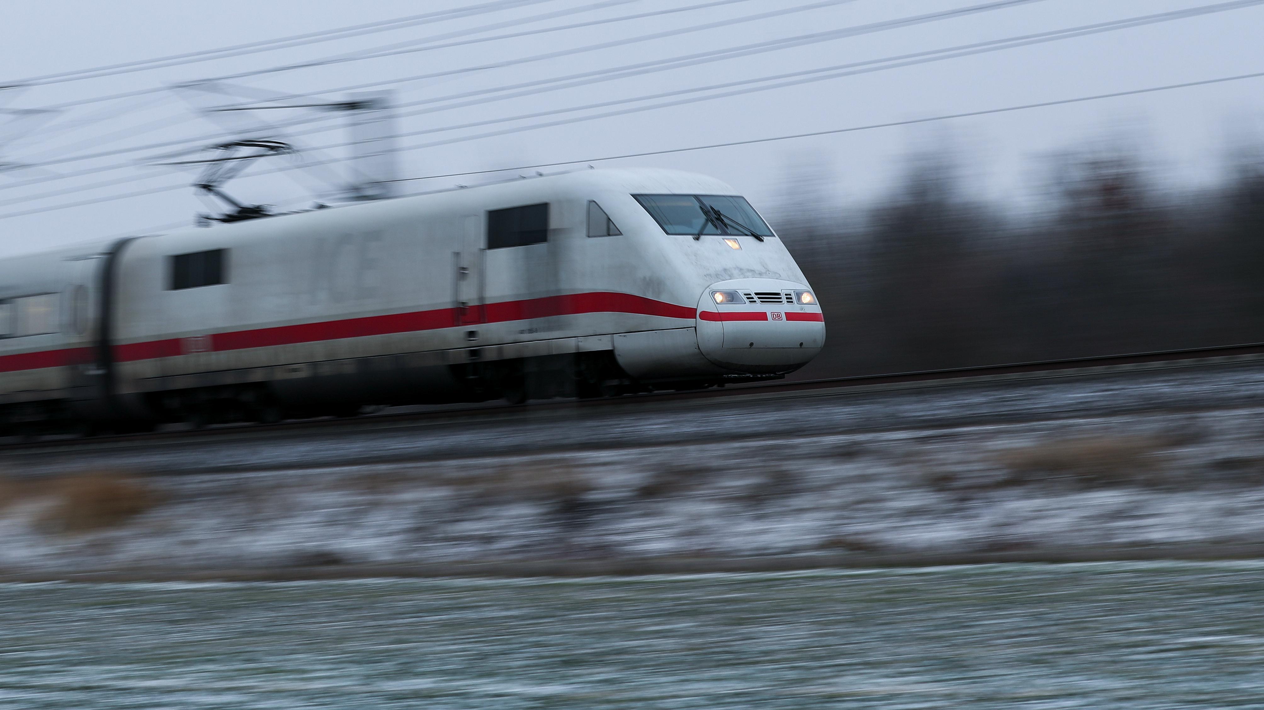 ICE auf der Strecke Berlin-München