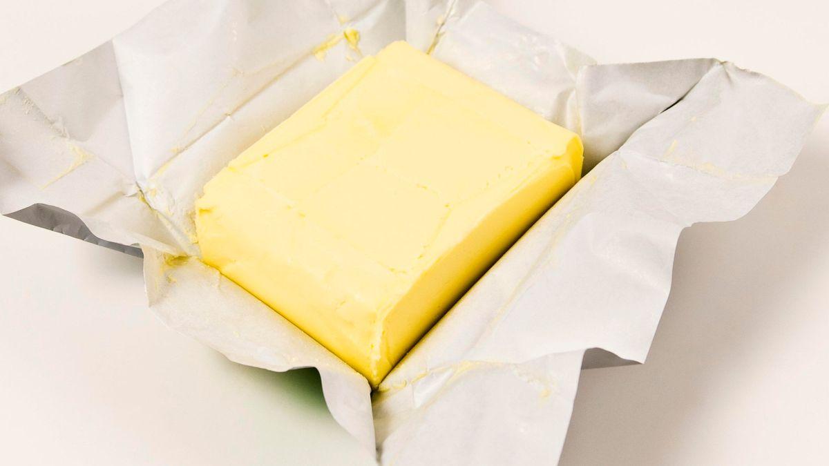 Ein Päckchen Butter