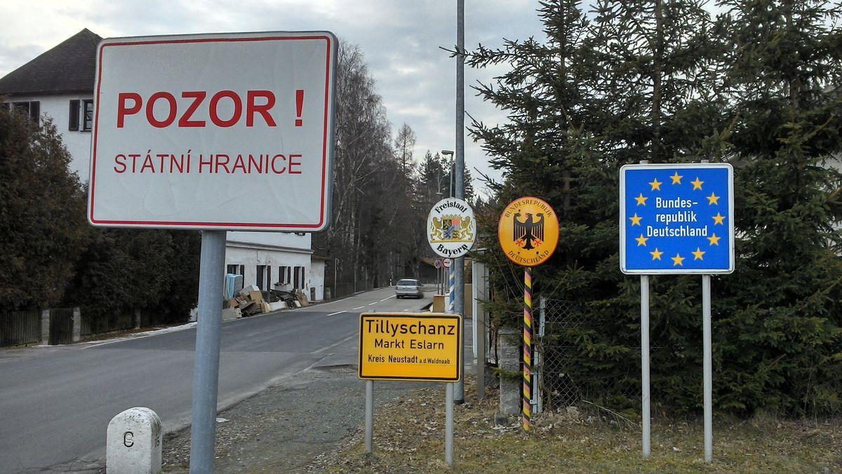 Grenzübergang im Landkreis Neustadt an der Waldnaab