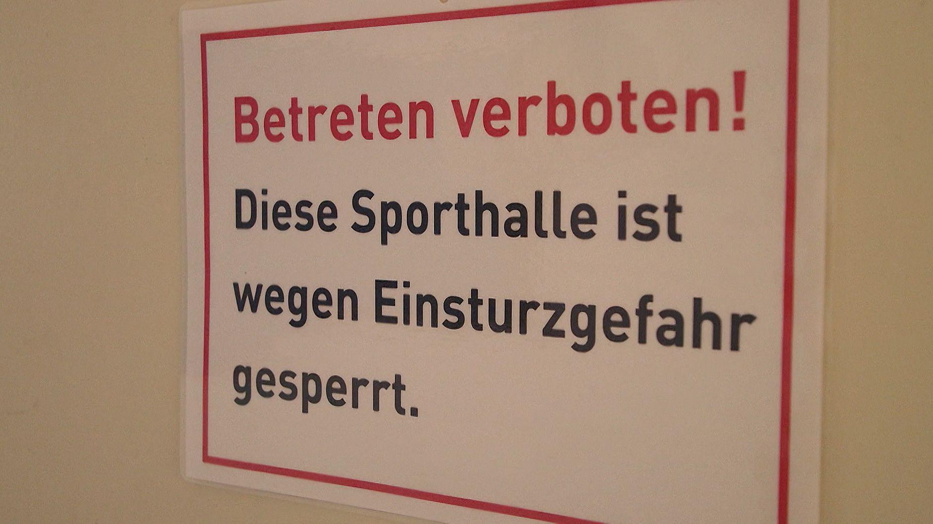 Marode Schule in Augsburg