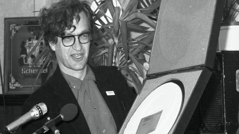 Wim Wenders bei der Preisverleihung.