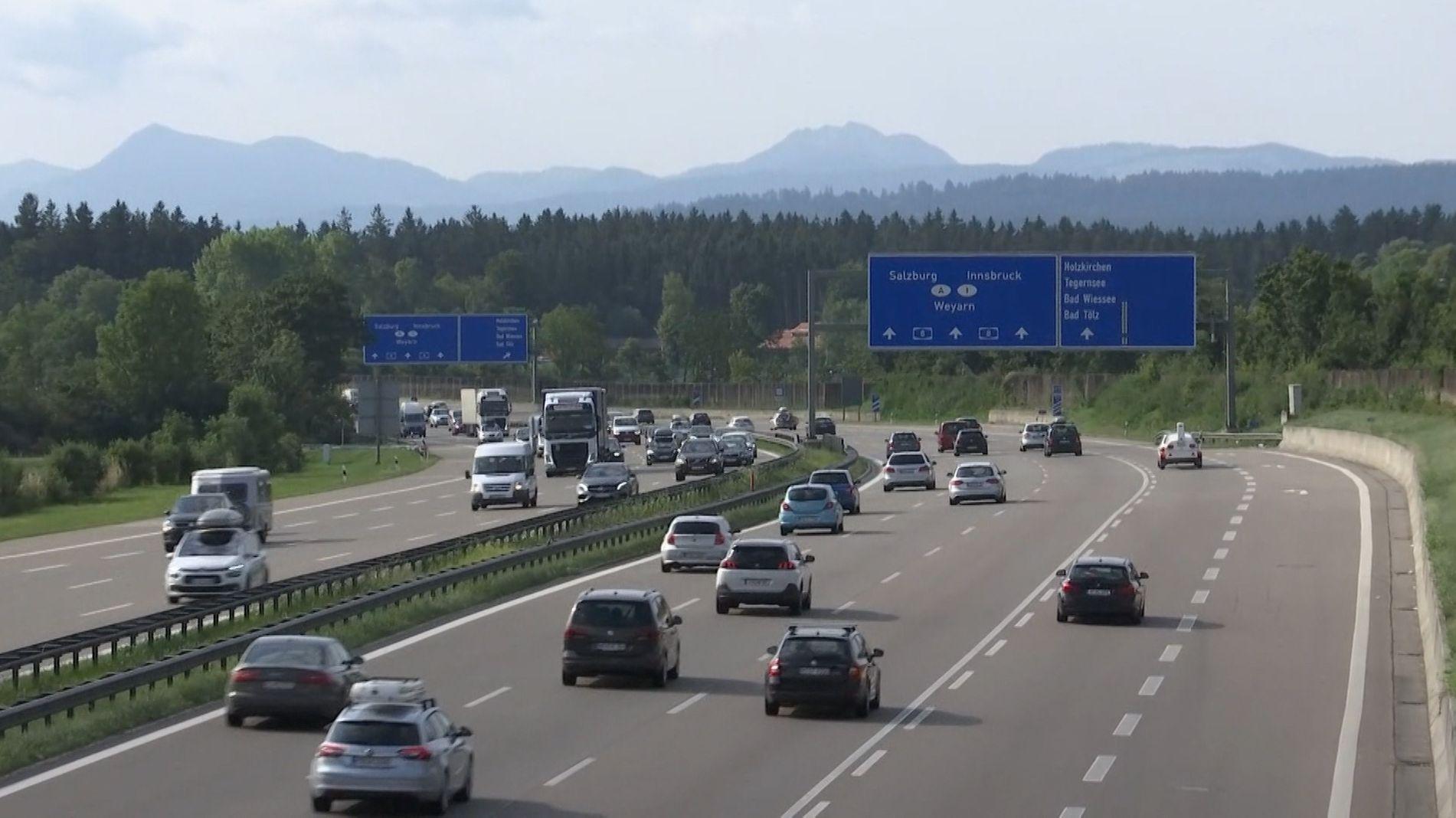 Ferien-Reiseverkehr in Bayern entspannt sich