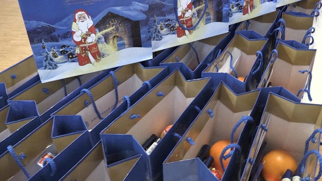 Weihnachtsgeschenke für Häftlinge