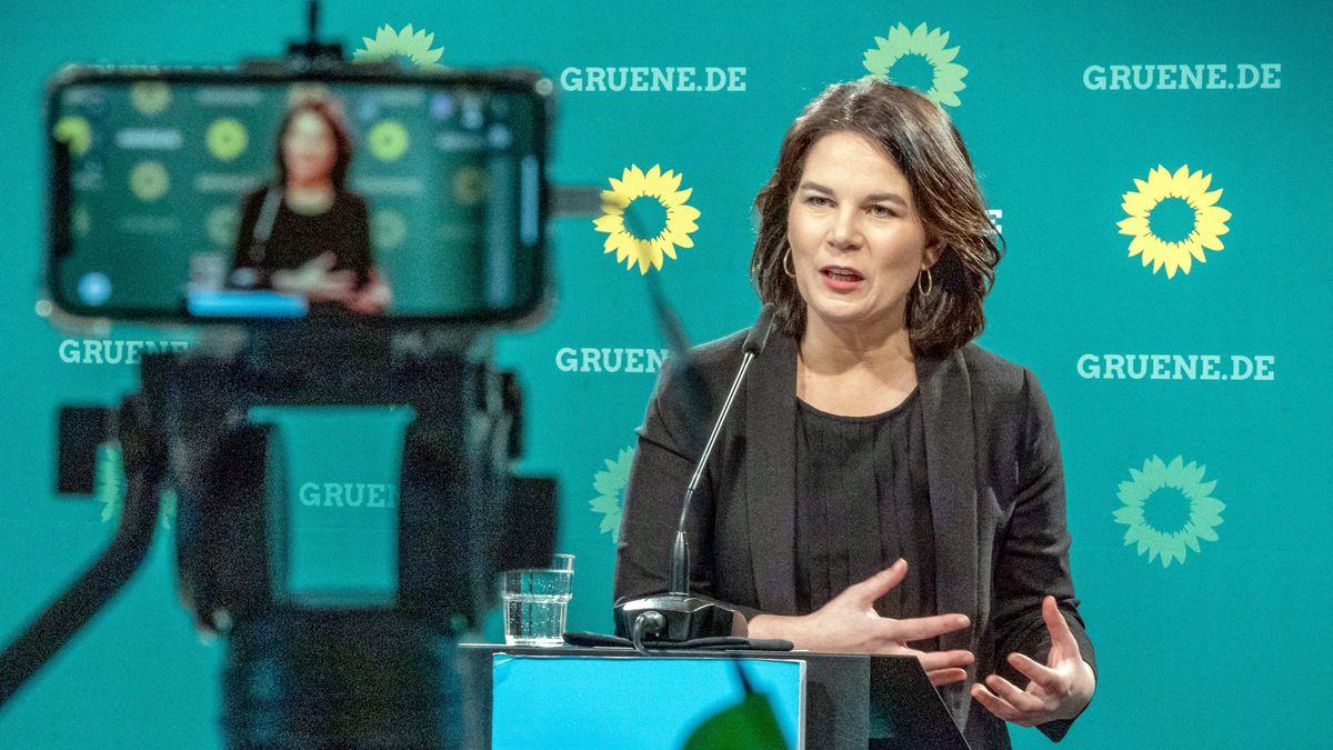 Annalena Baerbock, Bundesvorsitzende von Bündnis 90/Die Grünen und Kanzlerkandidatin