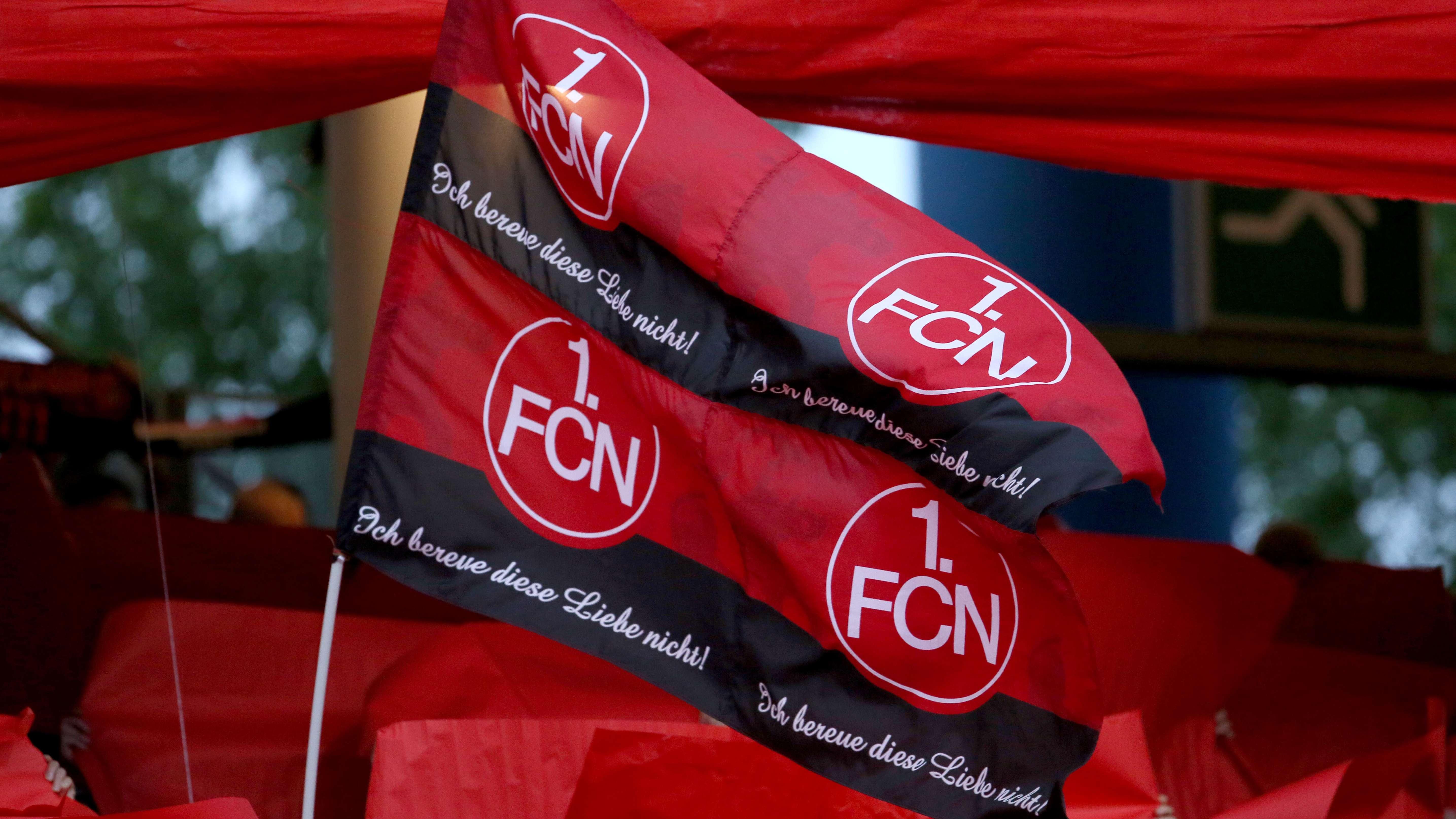 Fahne des 1. FCN