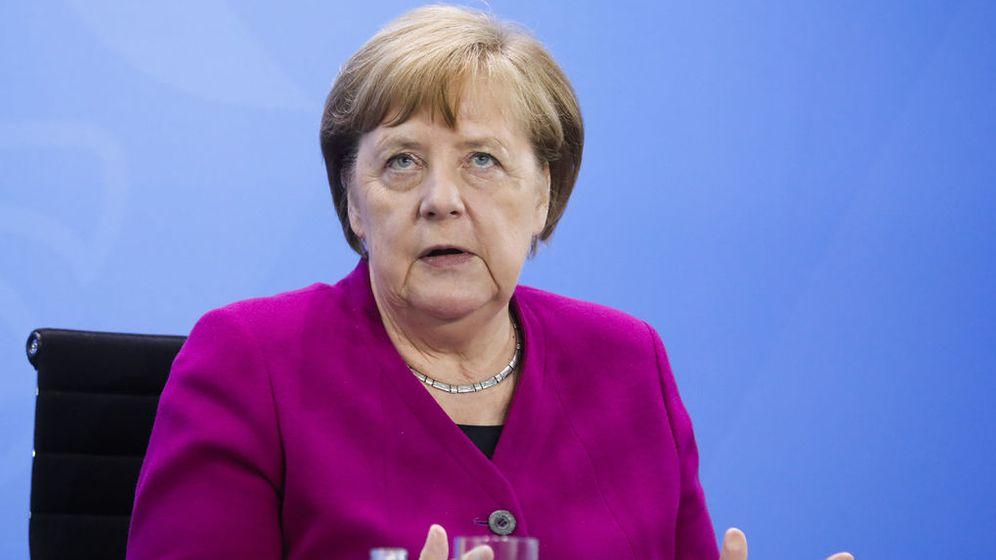 Bundeskanzlerin Angela Merkel    Bild:Markus Schreiber/AP-Pool/dpa-Bildfunk